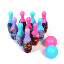 Children Plastic Indoor Outdoor Sport Bowling Ball Toys Set Kids Funny Bowwling set Game Gift(China)