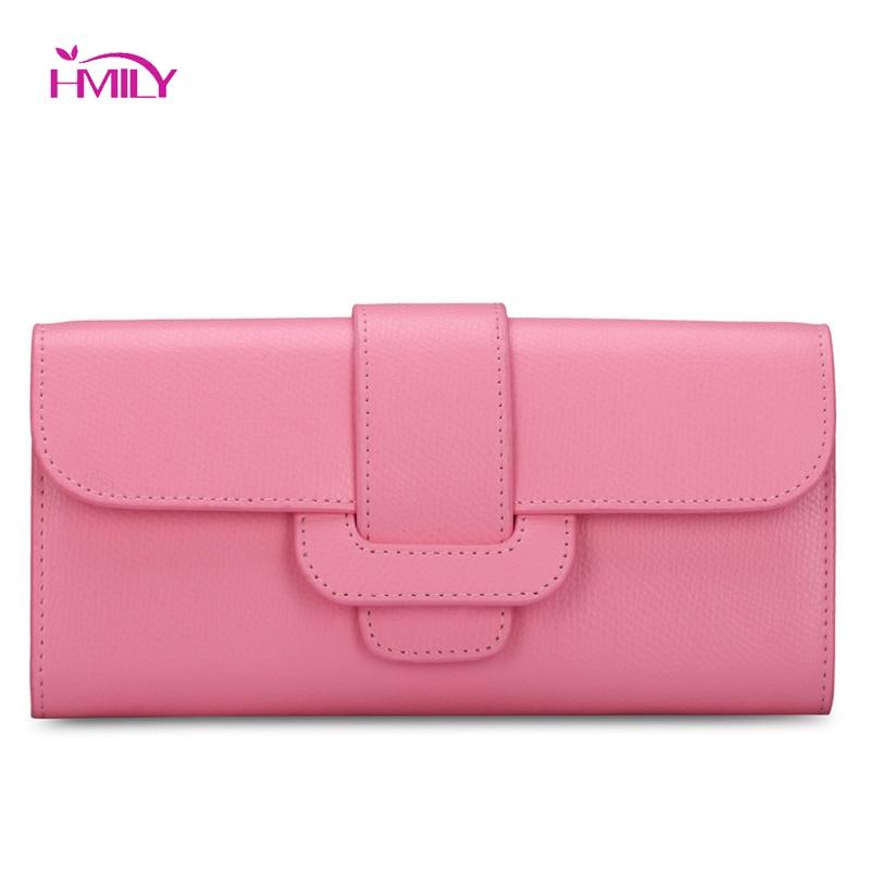 HMILY 2018 New Women Wallets Fashion Leather Wallet Female Purses Women Clutch Wallet Money Bag Ladies Card Holders Wallet