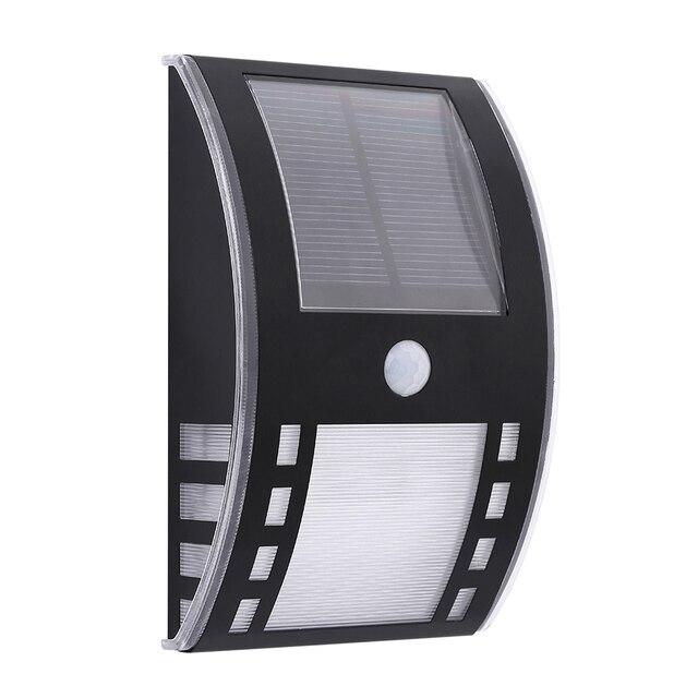 Motion sensor solar lamp LED garden light outdoor lighting wall ...