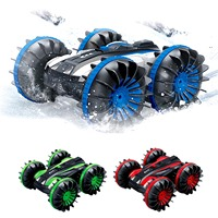 Kfds 360 Degree Rotating Remote Control Stunt Car Double Side All Terrain RC Electric Vehicle Robot Car Monster Truck Model Toys