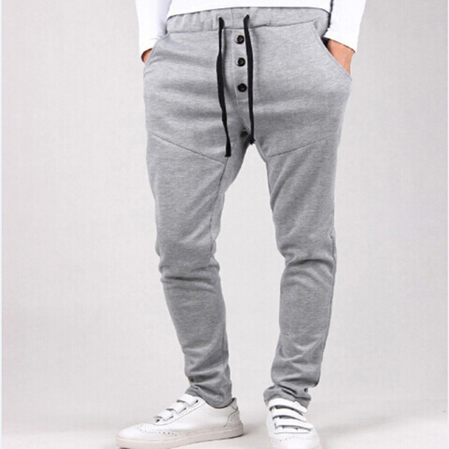 2017 New Men's Causal Harem Pants, Male Fashion Hip Hop Slacks Joggers Sweatpants,  Trousers Free Shipping