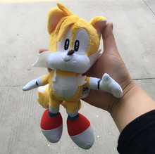 New Anime Super Sonic Plush Toys the Hedgehog Tails Ultimate Flash Fox Plush Toys 20CM Cute Stuffed Animals Anime Doll Soft Toys