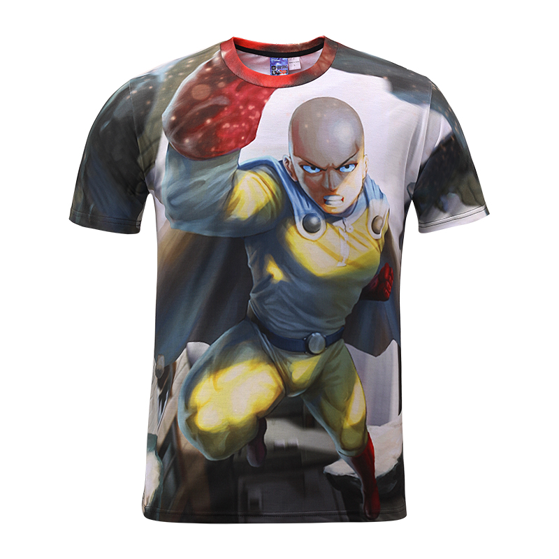 New 2018 new brand youth science fiction warrior 3D printed short sleeved shirts for summer mens clothes