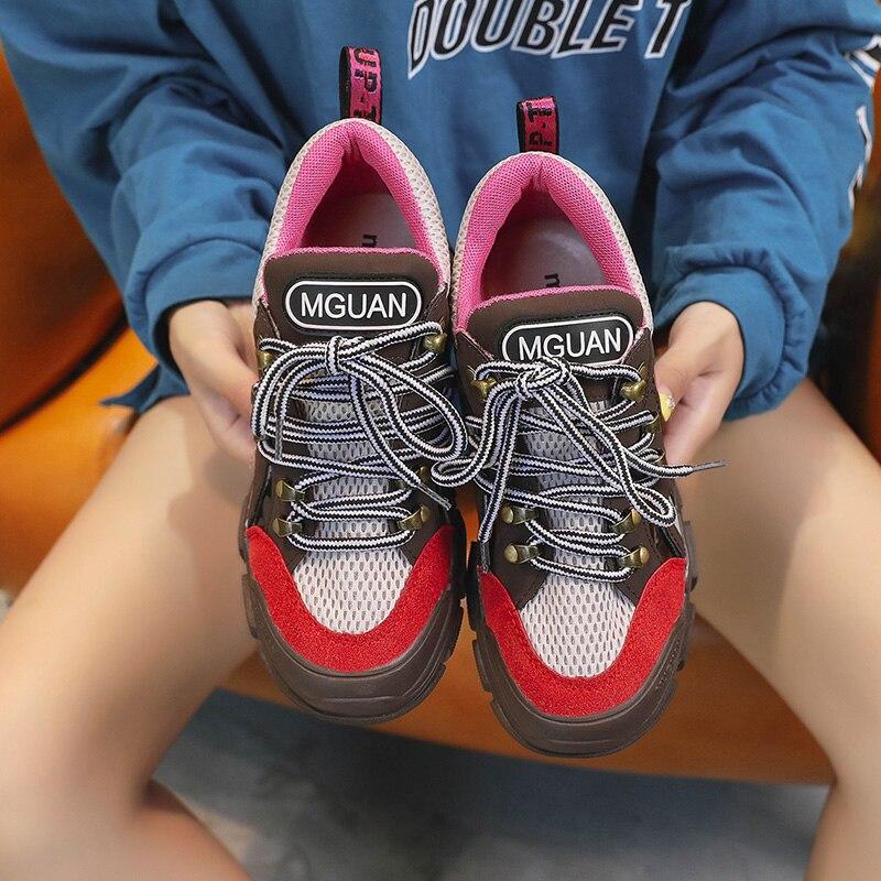 Croix Noir rouge Lady or De Fille Paillettes Marque Sneakers forme Femmes Kjstyrka Plate Chaussures Automne Nouvelle Bling Glitter 2019 Mode attaché qURqCpwP6