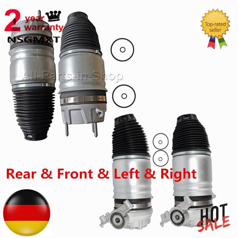 Arrière Avant Gauche + Droite Air Suspension Printemps Pour Porsche Cayenne VW Touareg 3.0L 4.2L 3.6L 7P6616019H 7P6616019J 7P6616020K