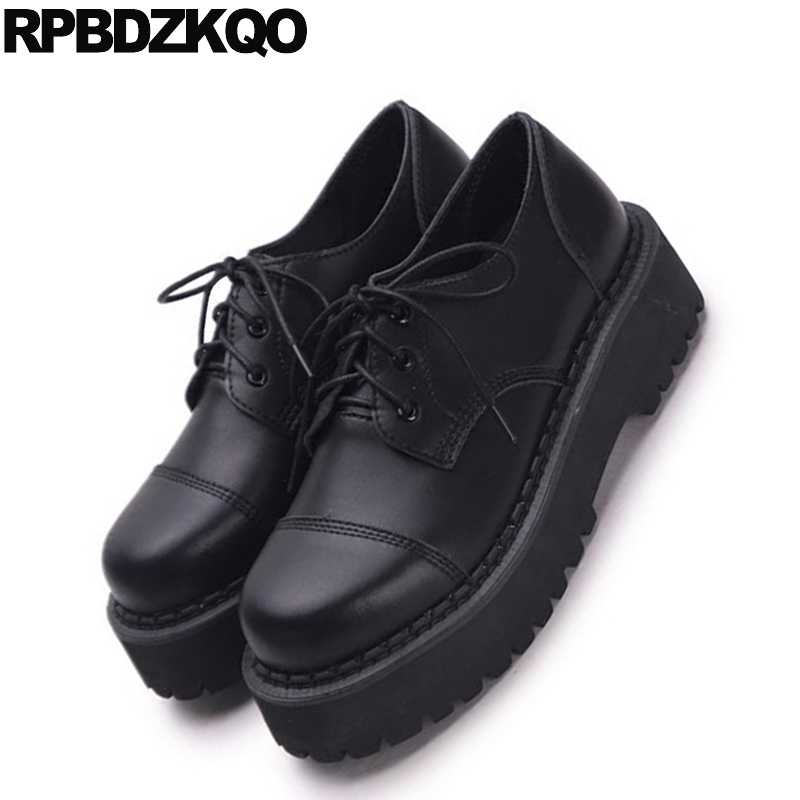 Creepers Platform Shoes Thick Sole Slip