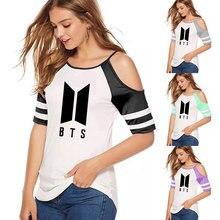 BTS Dew Shoulder Sexy T-shirt [8 colors]