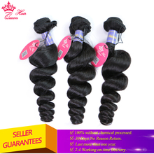 Remy-Hair Hair-Official Malaysian Weave Loose-Wave-Bundles Queen Natural-Color Deal 100%Human-Hair-Extension