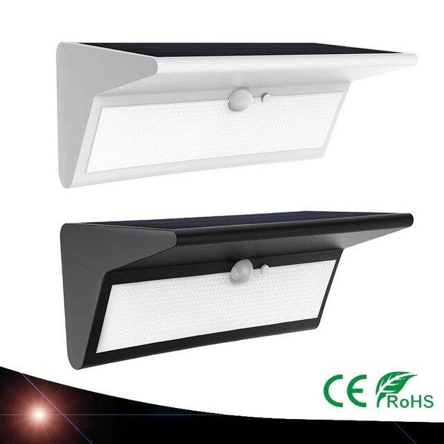 2X Waterdichte Zonne energie Lamp Groothoek Motion Sensor Zonne ...