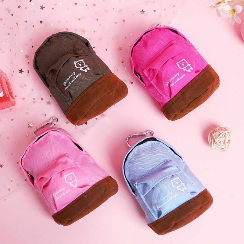 Мультяшная школьная сумка для детского сада, кошелек, милый медведь, оксфордская ткань, Детская мини-сумка, Детский рюкзак с Микки, милая сумка на плечо для мальчика
