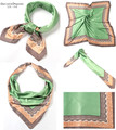 Из Индии Летом Женщины Шелковый Шарф Snood Бандана Новая Мода Красивая Девушка Оголовье Банданы Женщин Головы Шарфами