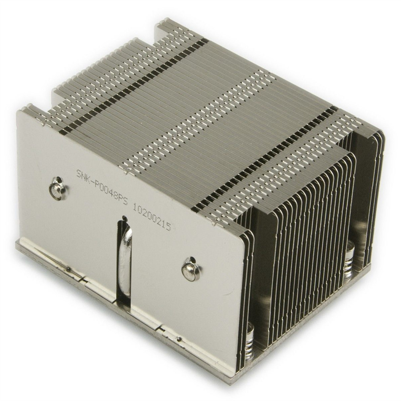 Server CPU Heatsink SNK-P0048PS X9 X10 2U Passive CPU <font><b>Cooler</b></font> Narrow ILM LGA2011 2U Passive Heatsink for <font><b>Sockets</b></font> LGA <font><b>2011</b></font> image