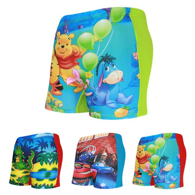 Kids Cartoon Swimming Trunks Child Swim Trunks Girls Bathing Suit Children Beach Wear Boys Summer Board Shorts Swimwear