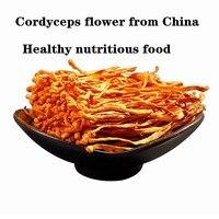 250 г-1000 г натуральный Высокое качество кордицепс Китайский цветы из Китая, укрепляет устойчивость, здоровая и питательная еда