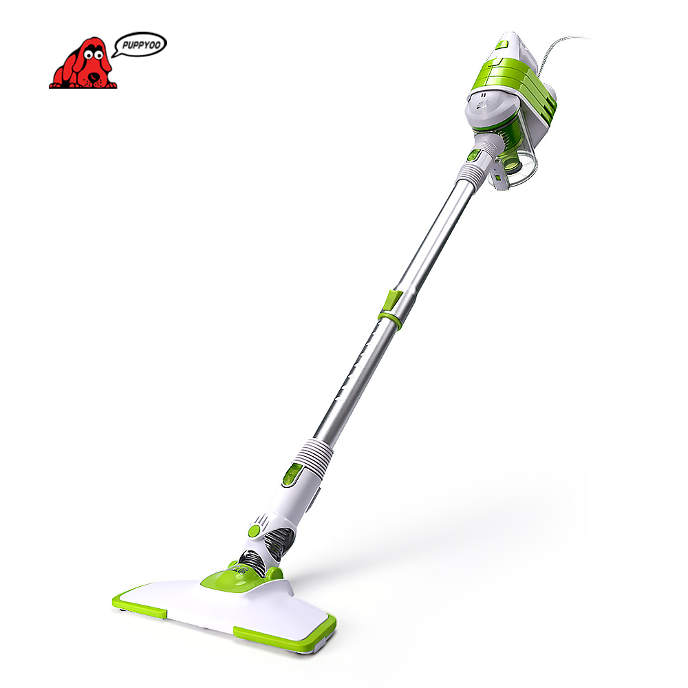 PUPPYOO Low Noise Home Rod font b Vacuum b font Cleaner Handheld Dust Collector Household Aspirator