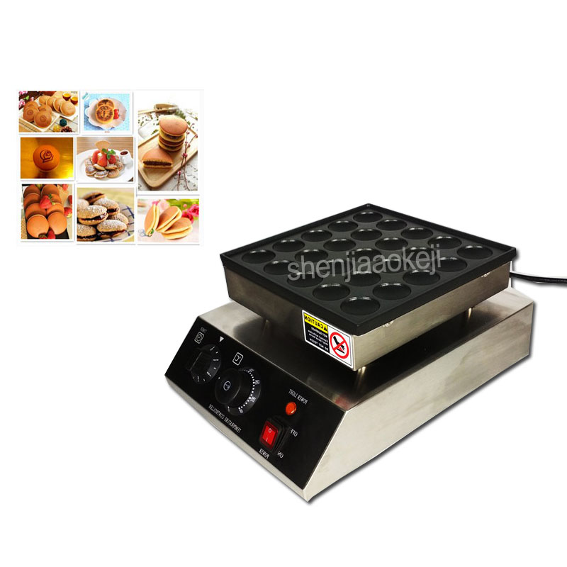 Mini Pancake Machine 800W Commercial Muffin Machine Electric 25 Holes Nonstick Pan Water-proof Switch  Scones Machines 110V/220VMini Pancake Machine 800W Commercial Muffin Machine Electric 25 Holes Nonstick Pan Water-proof Switch  Scones Machines 110V/220V