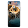 Cartoon Cat Cute Clear Animal Phone Case For OPPO F7 Case Silicone 6.23 5