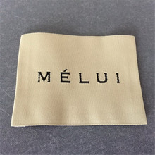 Custom Woven Labels Washable Clothing Brand Name Label Garment Tags