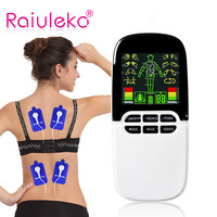 Multi Functional 3 channel Rhinitis Sinusitis Cure/Unit Electronic Pulse Massager 8 mode ElectroTherapy device pulse massager