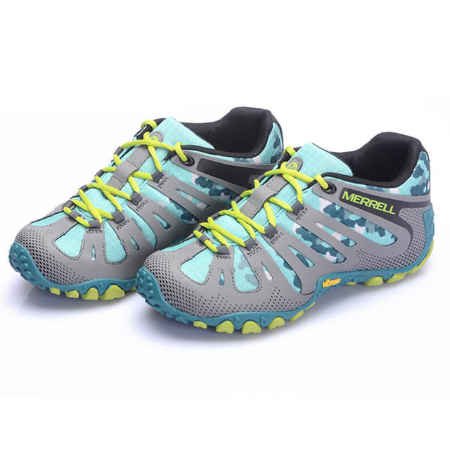 ccfedf897a33 Online Shop Merrell 2017 Women s Mesh Breathable Lightweight Trekking  Hiking shoes For non slip mountain sneakers 36-40