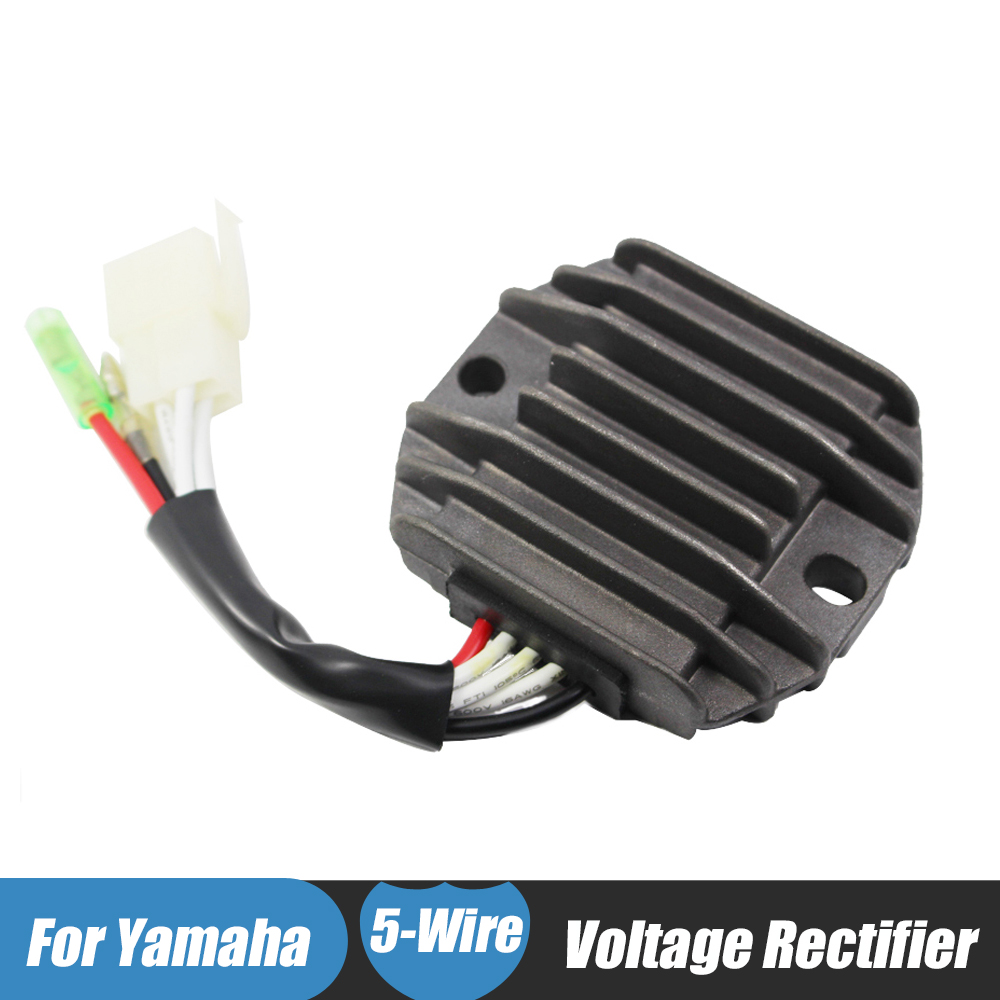 Motorcycle ATV Voltage Regulator Rectifier for Yamaha YFB 250 Timberwolf 4x4 Bear Tracker YFM350 Moto-4 Wolverine Big Bear Maine ...