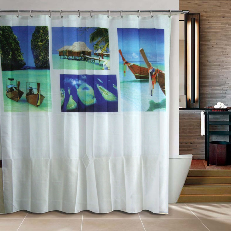 the undersea world 180x200cm bathroom polyester shower