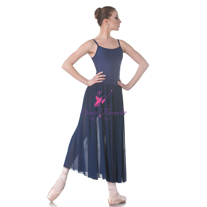 Dance Favourite New Lyrical Dance Costumes Mesh Long Skirt ballet dress, stage performance dance costumes ballet skirt