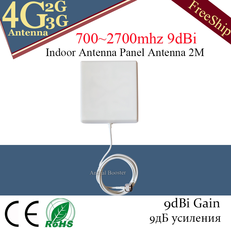 Gsm Antenna 4g Internal Antenna 2g 3G 4G LTE Panel Indoor Antenna 700-2700 With N-male Mobile Signal Antenna For Cell Phone