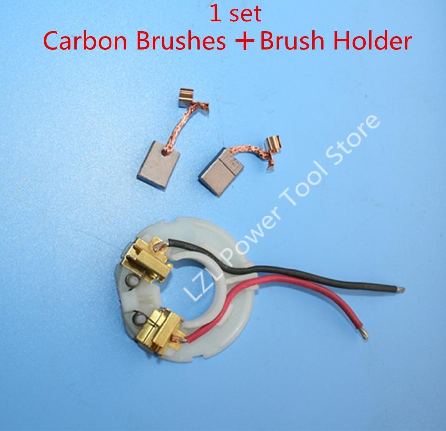 Carbon Brush Set For BDF446 BDF456 BHP446 BHP456 DHP456 DDF456