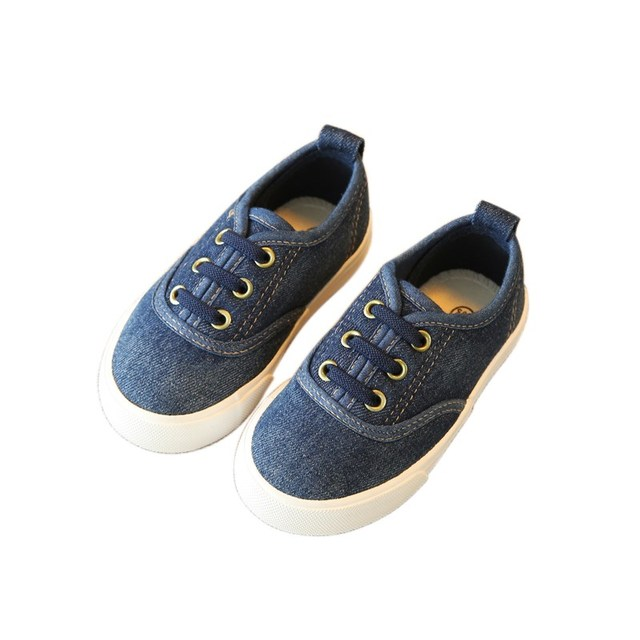 Children Casual Shoes 2018 Autumn Denim Kids Shoes Boys Girls Sneakers  Korean Fashion Canvas Toddler Baby Shoes Footwear bbd9c1249109