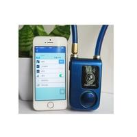 002 smart Bluetooth lock bicycle alarm mobile APP automatically unlock electric car anti theft security door lock
