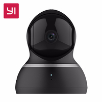 EU Edition XIAOMI Yi 1080P Dome Camera FHD 360 Degree 112 Wide Angle Pan Tilt