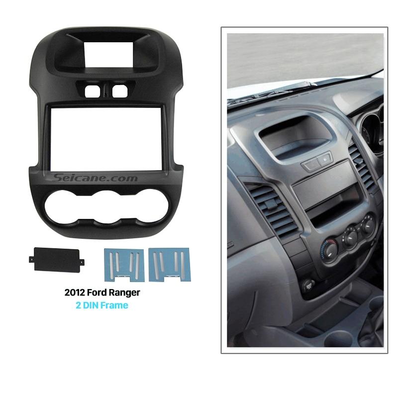 Seicane большой двойной автомобиля Гама Радио Фасции для 2011 2012 2013 Форд рейнджер Маунта черточки DVD-плеер панель