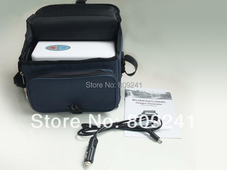 Mini gerador de oxigênio portátil combinado com duas baterias usadas para as idades, as mulheres grávidas.