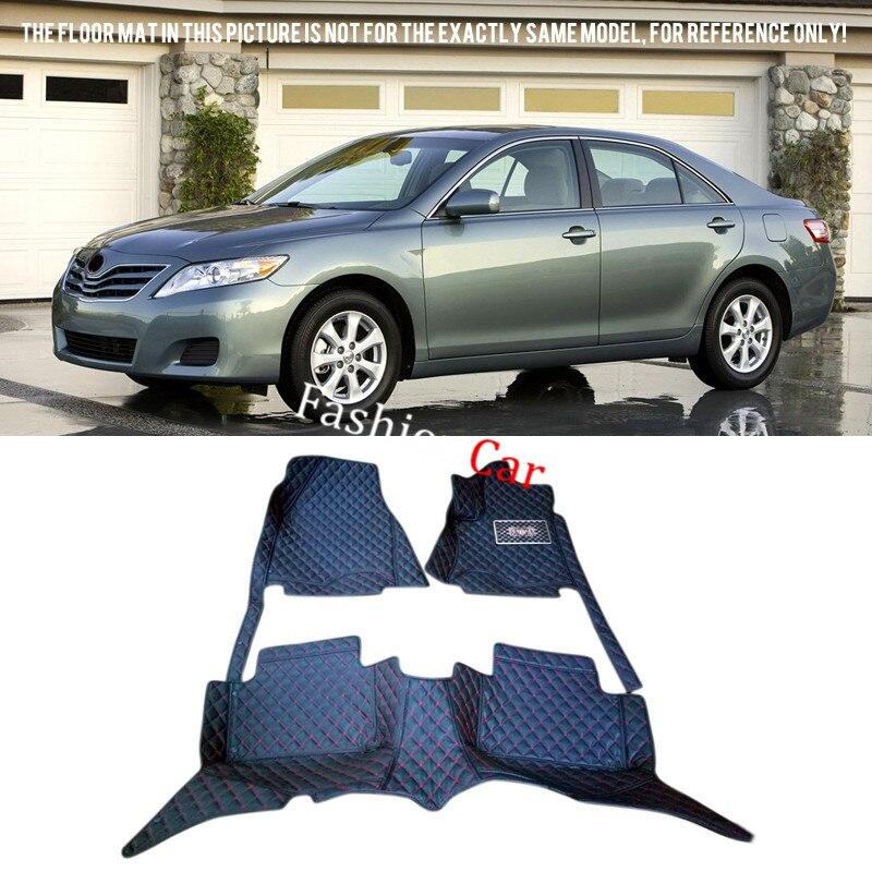 все цены на For TOYOTA Camry XV40 2007 2008 2009 2010 2011 Car Floor Mats Carpets Cover Car Styling Foot Pads онлайн