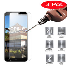 3 Pcs Tempered Glass for Homtom S16 Screen Protector 9H 2.5D Phone Protection Film for Homtom S16 Tempered Glass(China)