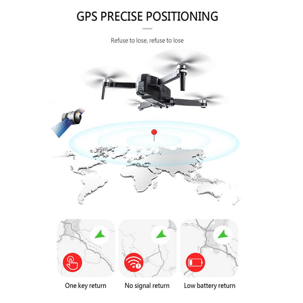 Sjrc F11 プロ 5 3g wifi rc ドローン gps 折りたたみドローン 2 18k カメラ hd ブラシレス quadcopter ドローンと 28 分の飛行時間 vs F11 SG906