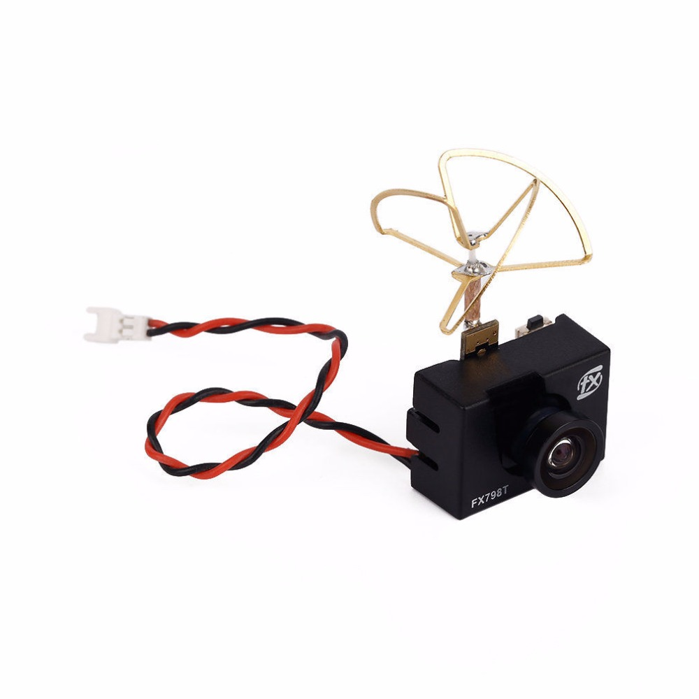 2016 New Arrival FX FX798T 5.8G 25mW 40CH NTSC Mini Transmitter Camera Combo For FPV RC Multicopter Quadcopter Part new arrival kingkong 800tvl cmos 115 degree camera 200mw 40ch 5 8g transmitter fpv system