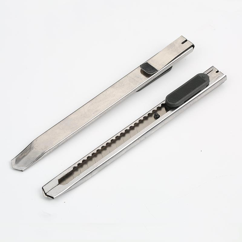 20PCS Fashion Office Stationery Metal And Plastic Small Size Utility Knife Small Mobile Phone Film Tools The Stainless Steel Art