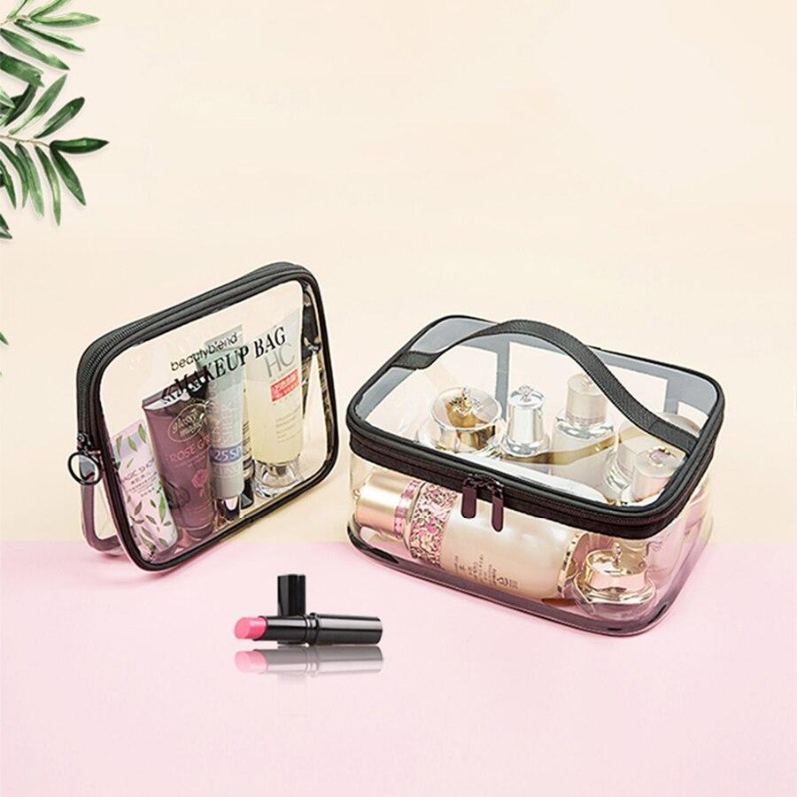 Zipper Women Small Cosmetic Bag For Make Up Porta Maquiagem Poly Bag Storage Saco De Armazenamento Clothing Organizer Fashion 21 in Storage Bags from Home Garden