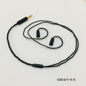 Image 5 - Tự làm tai nghe cáp cáp OFC cho SE535 MMCX Pin UE900 SE215 IM50 IM70 IE80 0.75MM 0.78MM pin ngắn cáp 45cm