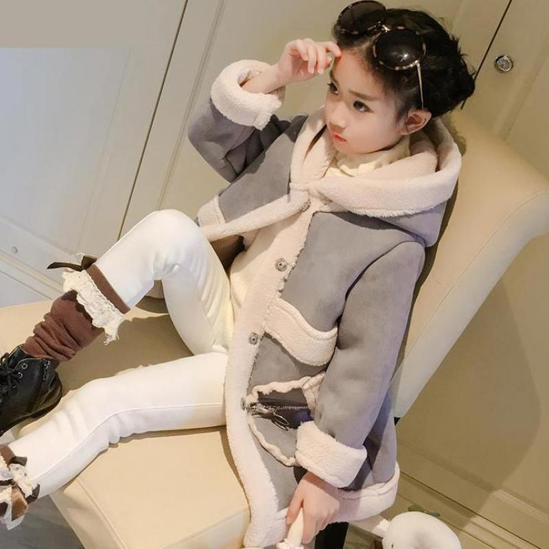 Big Girls Down Winter Coat Fur Collar Child Girl Coat Kids Jacket Clothes Parka Thick Warm Children Clothing Girls Outerwear -30 pcora down jacket for girls winter female child outwear khaki warm girl clothing size 3t 14t 2017 pink parka coat for baby girls