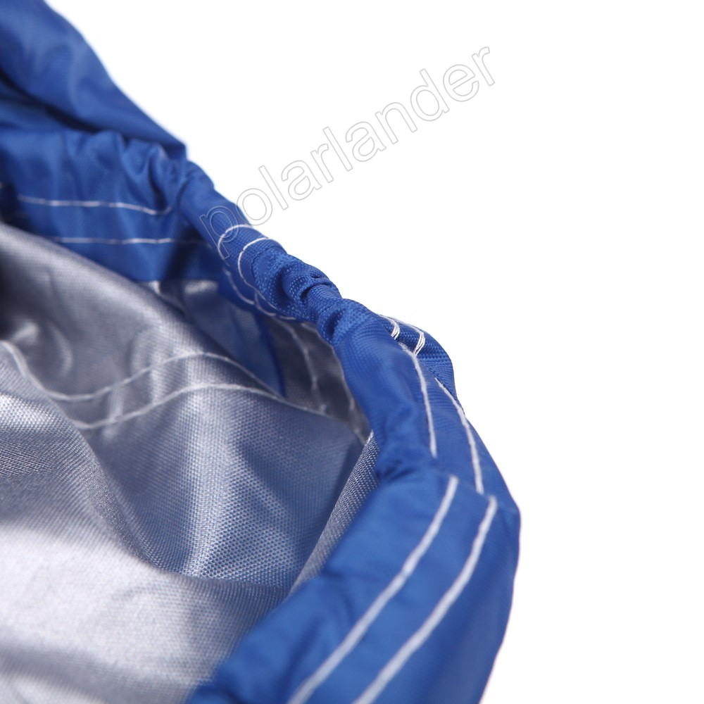 Hot Sell Boat cover fishing boat cover Waterproof 210D fishing Boat Cover for 17-19ft Beam 125 Trailerable Fish Ski V-Hull Blue