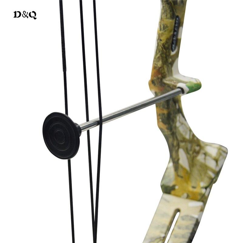 Стрельба из лука соединение комплект для молодежи Для детей Охота Стрельба игры потренируется лук с рука палец охранник колчан отдохнуть - 3