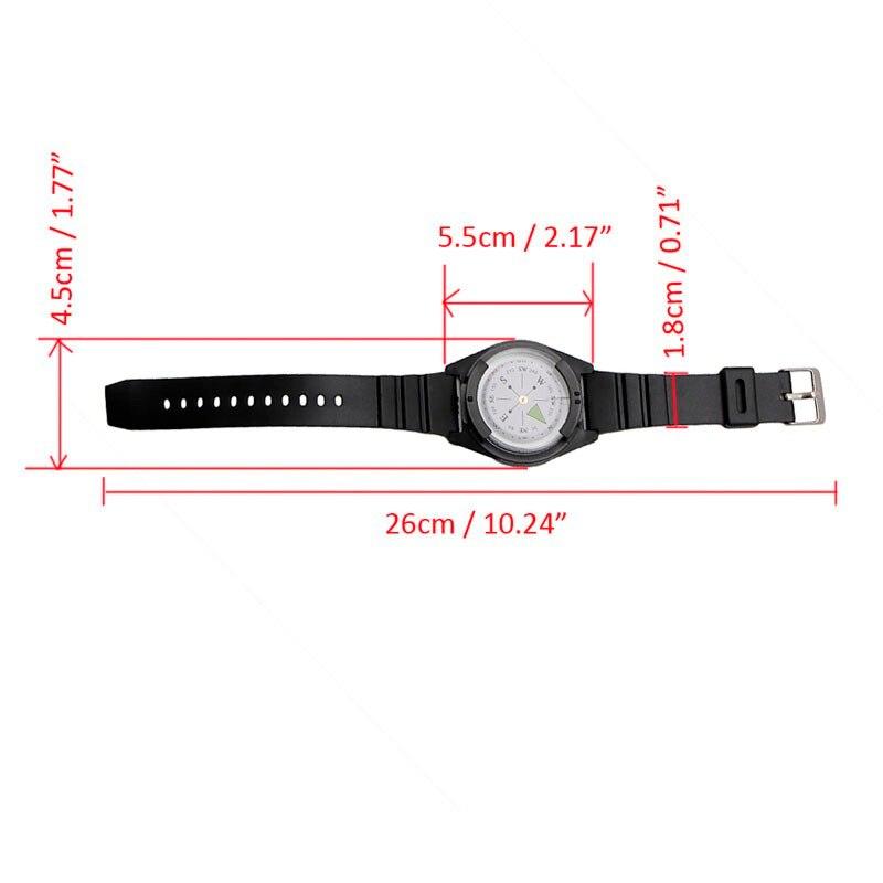 Pulseira tática bússola especial para relógio de