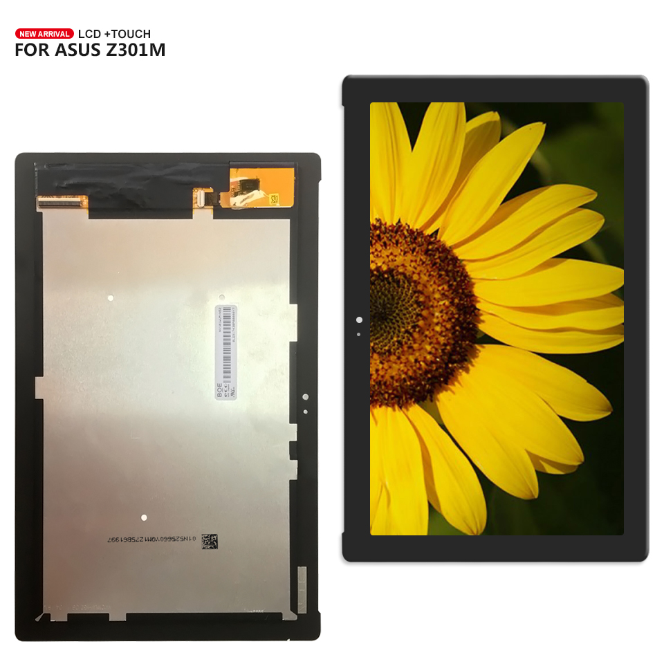 For ASUS ZenPad 10 Z301M Z301ML Z301MFL P028 Display Panel LCD Combo Touch Screen Glass Sensor Replacement Parts for huawei mediapad t1 701 t1 701u display panel lcd combo touch screen glass sensor replacement parts
