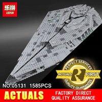 Lepin 05131 1585Pcs Star Plan Series The First Order Star Model Destroyer Set 75190 Building Blocks