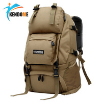Hot 55L Camo Tactical Pure Backpack Military Army Mochila Waterproof Hiking Hunting Backpack Tourist Rucksack Outdoor Sport Bag