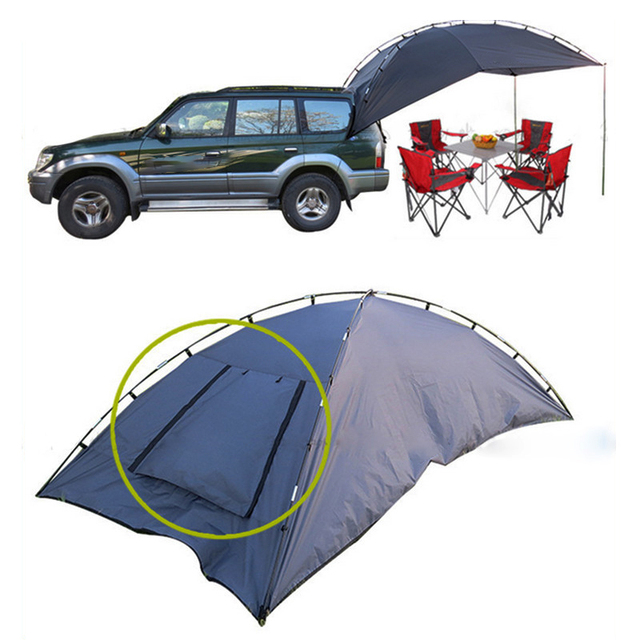 Outdoor Folding Car Tent C&ing Shelter Anti-UV Garden Fishing Waterproof Car Awning Tent Picnic  sc 1 st  AliExpress.com & Outdoor Folding Car Tent Camping Shelter Anti UV Garden Fishing ...