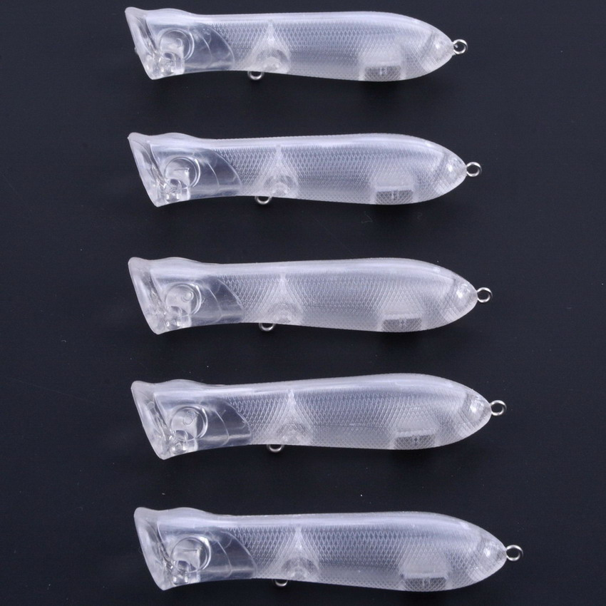 60pcs/set Blank unpainted Bait for DIY Crankbait unpainted lure bodies fishing lure blank hard fishing crankbait isca pesca утюг vitek vt 8305
